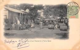 DAHOMEY - BENIN - Porto Novo / Cour D'une Factorerie - Dahomey