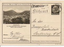 Bk7/ Deutsches Reich Ganzsache Bildpostkarte P 236/ 36-68-1-B6 Gelaufen/ Used - Ganzsachen