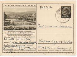 Bk8/ Deutsches Reich Ganzsache Bildpostkarte P 236/ 38-106-1-B4 Gelaufen/ Used - Ganzsachen