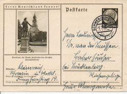Bk9/ Deutsches Reich Ganzsache Bildpostkarte P 236/ 38-107-1-B8 Gelaufen/ Used - Ganzsachen