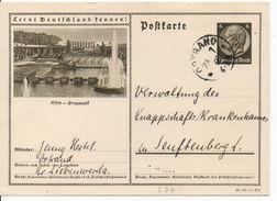 Bk12/ Deutsches Reich Ganzsache Bildpostkarte P 236/ 35-68-1-B2 Gelaufen/ Used - Ganzsachen