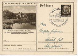Bk15/ Deutsches Reich Ganzsache Bildpostkarte P 236/ 40-149-1-B8 Mit SST Gelaufen/ Used - Ganzsachen