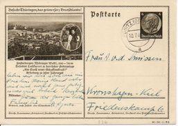 Bk17/ Deutsches Reich Ganzsache Bildpostkarte P 236/ 40-151-1-B2 Gelaufen/ Used - Ganzsachen