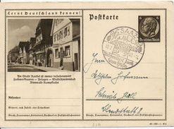 Bk18/ Deutsches Reich Ganzsache Bildpostkarte P 236/ 40-150-1-B6 Mit SST Gelaufen/ Used - Ganzsachen