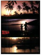 (723) Tonga Sunset On Beach (with Bird Stamp) - Tonga