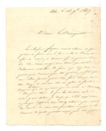 ETHE 1847 ( Virton) - Lettre Adressée Au Bourgmestre - Manuskripte