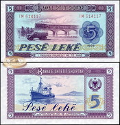 Albania. 5 Lekё (Unc) 1976. Banknote Cat# P.42 [DLC.BN01360] - Albania