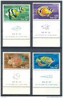 Israel - 1962, Michel/Philex No. : 266-269,  - MNH - *** - Full Tab - Israël