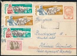 Mongólia 1963 - Stamps