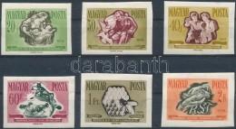** 1958 Takarékosság és Biztonság Vágott Sor (9.000) - Stamps