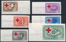 ** 1957 Postáskórház ívszéli Vágott Sor (14.000) - Stamps