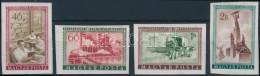 ** 1955 Felszabadulás (III.) Vágott Sor (10.000) - Stamps