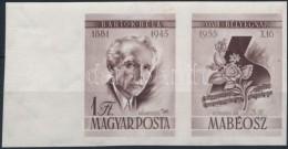 ** 1955 Bélyegnap (28.) - Bartók ívszéli Vágott Jobb Oldali Szelvénnyel ... - Stamps