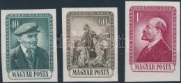 ** 1954 V. I. Lenin (I.) Vágott Sor (14.000) - Stamps