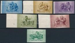 ** 1954 Anya- és CsecsemÅ'védelem Vágott Sor (14.000) - Stamps