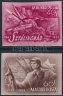 ** 1953 Sztálingrád Vágott Sor (9.000) - Stamps