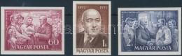 ** 1952 Rákosi Mátyás Vágott Sor (7.000) - Stamps