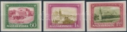 ** 1952 Moszkva Vágott Sor (8.000) - Stamps