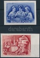 ** 1952 Bélyegnap (25.) Vágott Sor (18.000) - Stamps