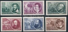 ** 1952 1848-as Szabadságharcosok Vágott Sor (8.000) - Stamps