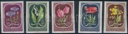 ** 1951 Virág (II.) Vágott Sor (10.000) - Stamps