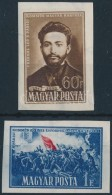 ** 1951 Párizsi Kommün (I.) Vágott Sor (8.000) - Stamps