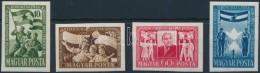 ** 1951 MDP Kongresszus (I.) Vágott Sor (12.000) - Stamps