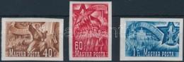 ** 1951 Május 1. (II.) Vágott Sor (14.000) - Stamps