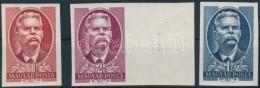 ** 1951 Maxim Gorkij Vágott Sor (7.000) - Stamps