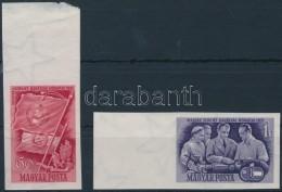 ** 1951 Magyar-szovjet Barátság Vágott Sor (9.000) - Stamps