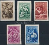 ** 1951 Gyermek (II.) Vágott Sor (9.000) - Stamps
