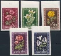 ** 1950 Virág (I.) Vágott Sor (10.000) - Stamps