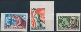 ** 1950 Béke (III.) Vágott Sor (13.000) - Stamps