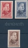 ** 1949/1950 Sztálin (I.) Vágott Sor (3.000) - Stamps
