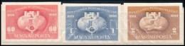 ** 1949 UPU Vágott Sor - Stamps