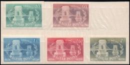 ** 1949 Lánchíd Vágott Sor - Stamps