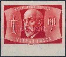 ** 1948 Eötvös Loránd Vágott Bélyeg (25.000) - Stamps