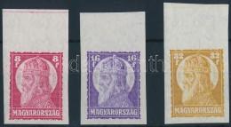 ** 1929 Szent István (II.) ívszéli Vágott Sor (40.000) - Stamps