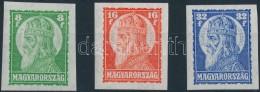 ** 1928 Szent István (I.) ívszéli Vágott Sor (40.000) - Stamps