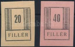 (*) Nyíregyháza 1944 Fogazatlan Fázisnyomatok, Vizsgálat Nélkül - Stamps