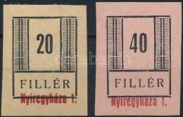(*) Nyíregyháza II. 1944 Fogazatlan Fázisnyomatok, Vizsgálat Nélkül - Stamps
