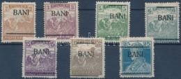 ** (*) * BorosjenÅ' 1919 7 Db Megszállási Bélyeg, Javarészt Flasch és Bodor... - Stamps