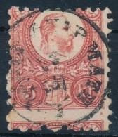 O 1871 Réznyomat 5kr Látványos Elfogazással - Stamps