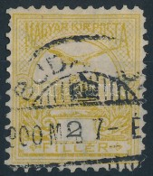 O 1900 Turul 2f 11 1/2 Fogazással (16.000) - Stamps
