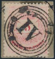 Színesszámú 5kr érdekes Bélyegzéssel - Stamps