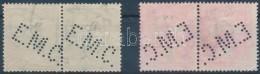 O 1910 Turul 5f és 10f Párokban E.M.C. Normál és Fordított... - Stamps