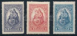 * 1926 Keskeny Madonna Sor (10.000) Foghibák - Stamps