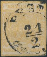 O 1850 1kr MP Szűken Vágva (10.000) - Stamps