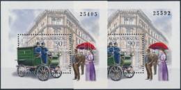 ** 1997 Bélyegnap Blokk A Ritka Vastag Sorszámú Blokk + Támpéldány - Stamps