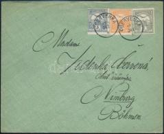 1913 Levél Turul 1f + 3f + 6f Bérmentesítéssel + 1f A Levél... - Stamps